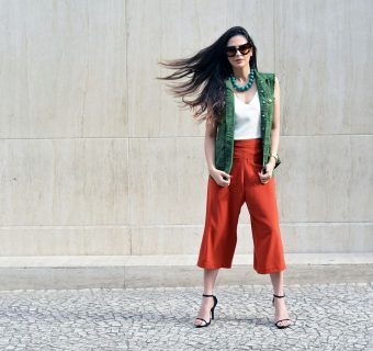 Look do Dia: estilo color block
