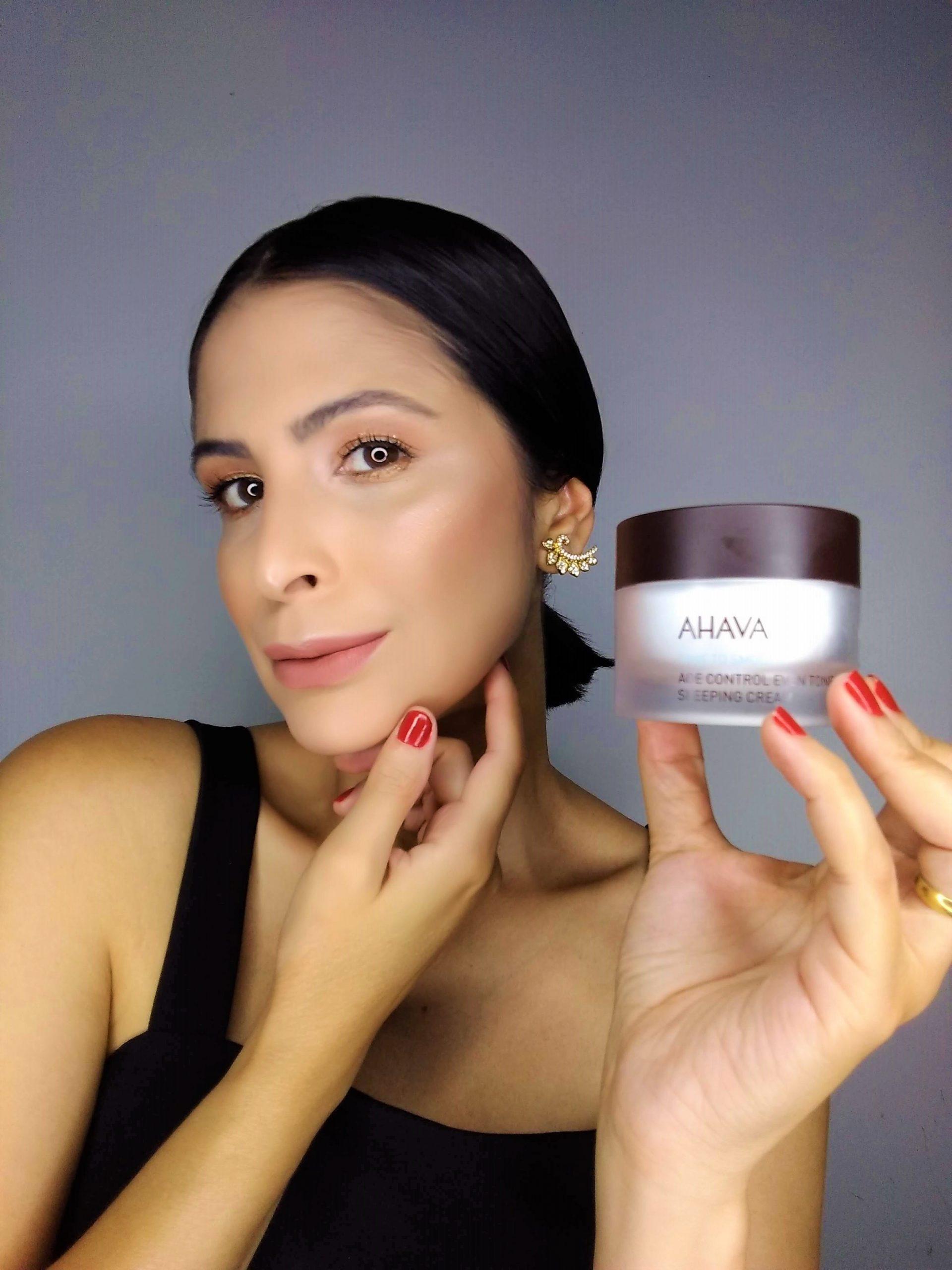 Creme sleeping cream age control da AHAVA