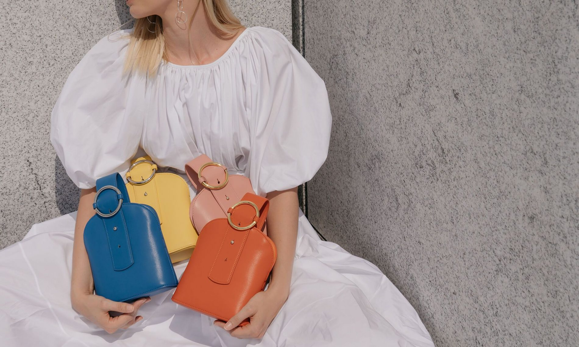 Crossbody bag coloridas