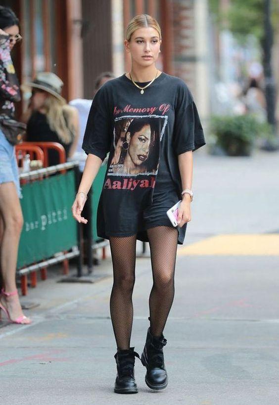 Camiseta alongada: Aquele visual streetwear que amamos!