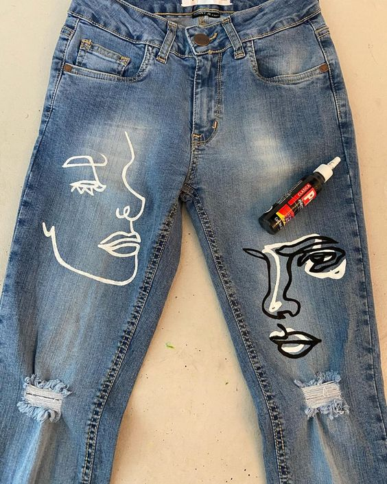 reciclando jeans velho