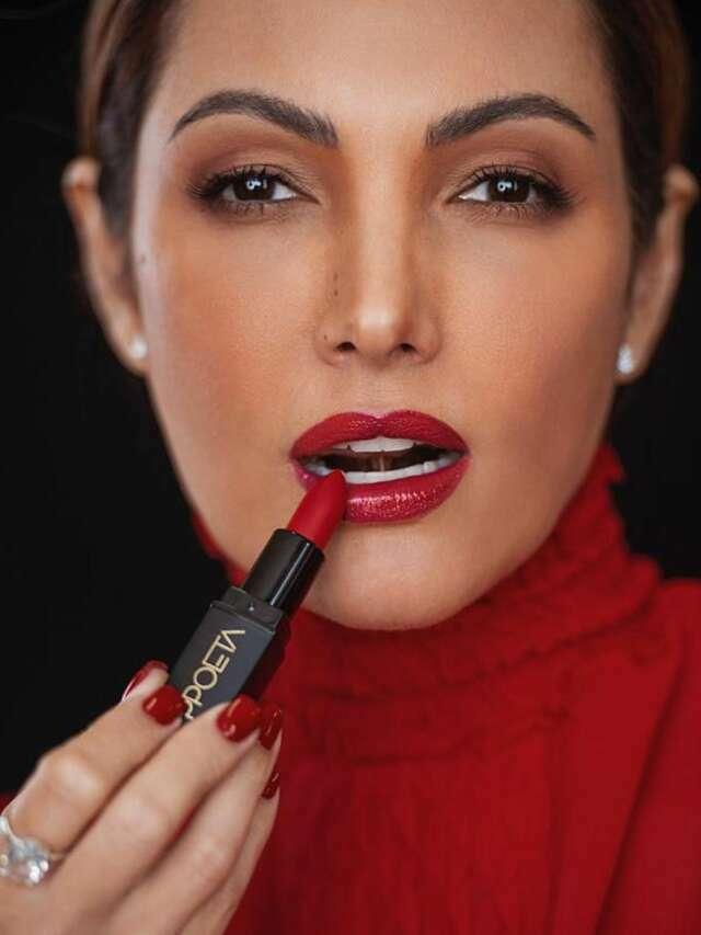 Patrícia Poeta lança a sua primeira linha de maquiagem